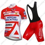 2017 Team ANDRONI GIOCATTOLI Riding Clothing Cycle Bib Kit Red