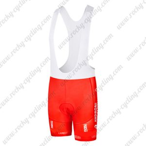 2017 Team ANDRONI GIOCATTOLI Riding Clothing Cycle Bib Shorts Bottoms Red