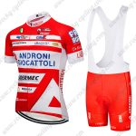 2017 Team ANDRONI GIOCATTOLI Riding Clothing Cycling Bib Kit Red