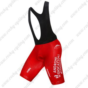 2017 Team ANDRONI GIOCATTOLI Riding Clothing Cycling Bib Shorts Bottoms Red