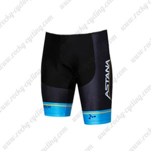2018 Team ASTANA Cycling Wear Biking Shorts Bottoms Black Blue