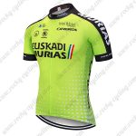 2018 Team EUSKADI MURIAS Biking Clothing Cycle Jersey Shirt Green