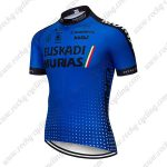 2018 Team EUSKADI Riding Wear Cycling Jersey Shirt Blue