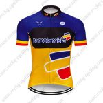 2019 Team Bancolombia Cycling Clothing Riding Jersey Shirt Blue Yellow Red
