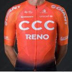 2019 Team CCC RENO GIANT Cycling Clothing Jersey Shirt Orange Black