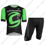 2019 Team Cannondale Cycling Clothing Racing Kit Black Green