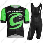 2019 Team Cannondale Cycling Clothing Riding Bib Kit Black Green