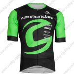 2019 Team Cannondale Cycling Clothing Riding Jersey Shirt Black Green