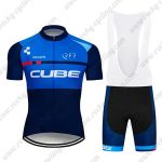 2019 Team Cycling 93 CUBE Riding Apparel Cycle Bib Kit Blue