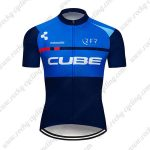 2019 Team Cycling 93 CUBE Riding Apparel Cycle Jersey Shirt Blue