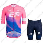 2019 Team EF Cannondale Biking Clothing Riding Kit Pink Blue