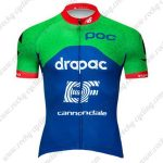 2019 Team EF Cannondale Biking Outfit Cycle Jersey Shirt Green Blue