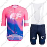 2019 Team EF Cannondale Cycling Clothing Riding Bib Kit Pink Blue