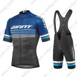 2019 Team GIANT Biking Apparel Riding Bib Kit Blue Black