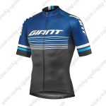 2019 Team GIANT Biking Apparel Riding Jersey Shirt Blue Black