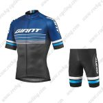 2019 Team GIANT Biking Apparel Riding Set Blue Black