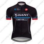 2019 Team GIANT CASTELLI Cycling Clothing Riding Jersey Shirt Black