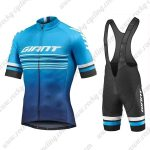 2019 Team GIANT Cycling Clothing Riding Bib Kit Blue