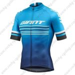 2019 Team GIANT Cycling Clothing Riding Jersey Shirt Blue