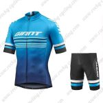 2019 Team GIANT Cycling Wear Riding Set Blue