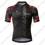 2019 Team MERIDA Cycling Apparel Biking Jersey Shirt Black Red