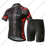 2019 Team MERIDA Cycling Apparel Biking Kit Black Red