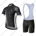 2019 Team MERIDA Cycling Clothing Riding Bib Kit Black White