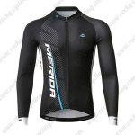 2019 Team MERIDA Cycling Wear Riding Long Sleeves Jersey Black
