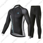 2019 Team MERIDA Cycling Wear Riding Long Sleeves Set Black