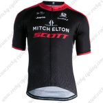 2019 Team MITCHELTON SCOTT Riding Wear Cycling Jersey Shirt Black Red