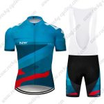 2019 Team NW Riding Clothing Cycling Bib Kit Blue