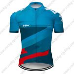 2019 Team NW Riding Clothing Cycling Jersey Shirt Blue