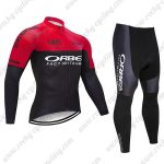 2019 Team ORBEA Biking Apparel Riding Long Suit Red Black