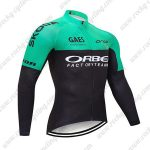 2019 Team ORBEA Biking Outfit Riding Long Sleeves Jresey Green Black