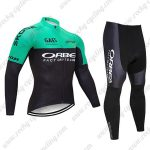 2019 Team ORBEA Cycling Apparel Riding Long Suit Green Black