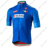 2019 Team SUZUKI Castelli Cycling Clothing Riding Jersey Shirt Blue