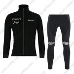 2019 Team TREK Segafredo Biking Apparel Riding Long Set Black