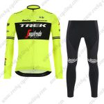 2019 Team TREK Segafredo Biking Apparel Riding Long Set Yellow