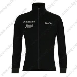 2019 Team TREK Segafredo Biking Apparel Riding Long Sleeves Jersey Black