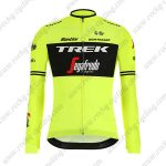 2019 Team TREK Segafredo Biking Outfit Riding Long Sleeves Jersey Yellow