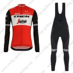 2019 Team TREK Segafredo Cycle Apparel Riding Long Bib Set Red2019 Team TREK Segafredo Cycle Apparel Riding Long Bib Set Red