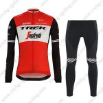 2019 Team TREK Segafredo Cycle Apparel Riding Long Set Red
