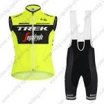 2019 Team TREK Segafredo Santini Cycling Apparel Sleeveless Bib Kit Yellow Black