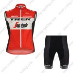 2019 Team TREK Segafredo Santini Cycling Apparel Sleeveless Kit Red