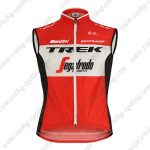 2019 Team TREK Segafredo Santini Riding Apparel Sleeveless Tank Top Jersey Shirt Red