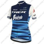 2019 Team TREK Segafredo Santini Womens Ladies Cycle Clothing Jersey Shirt Blue