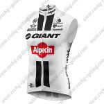 2016 Team GIANT Alpecin Cycling Vest Sleeveless Waistcoat Rain-proof Windbreak White