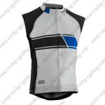 2017 Team ORBEA Cycling Vest Sleeveless Waistcoat Rain-proof Windbreak White Black