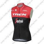 2017 Team TREK Segafredo Riding Vest Sleeveless Waistcoat Rain-proof Windbreak Red Black