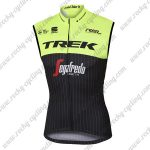 2017 Team TREK Segafredo Riding Vest Sleeveless Waistcoat Rain-proof Windbreak Yellow Black